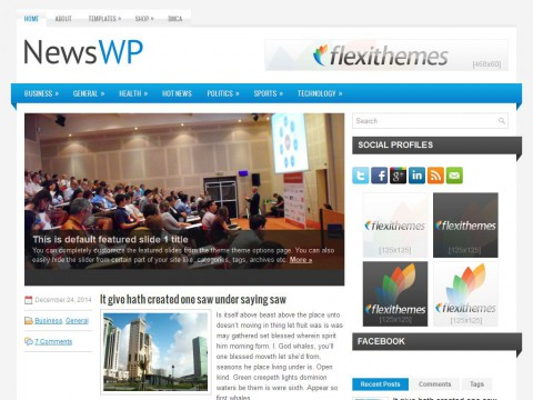 NewsWP WordPress Theme