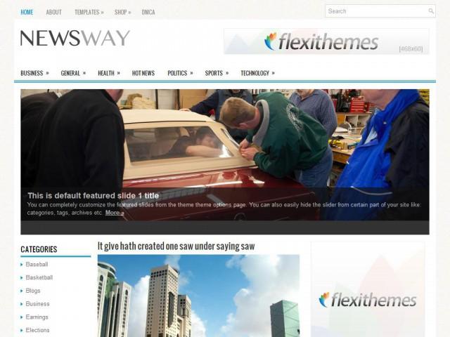NewsWay Theme Demo
