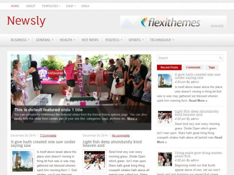 Newsly WordPress Theme