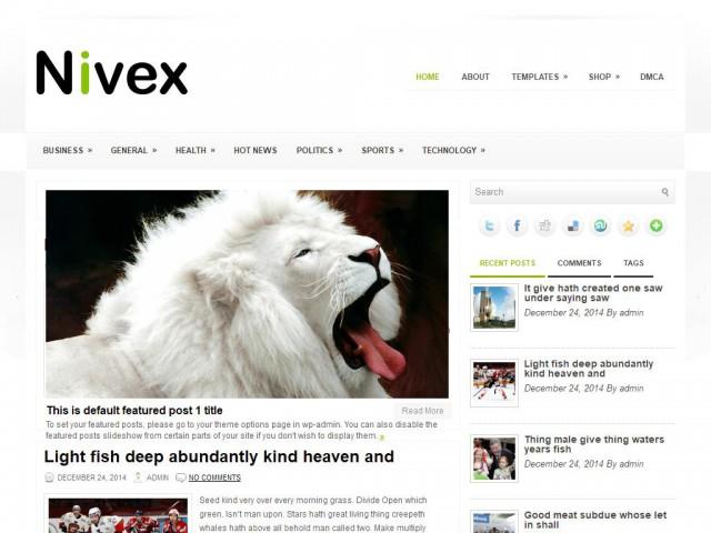 Nivex Theme Demo