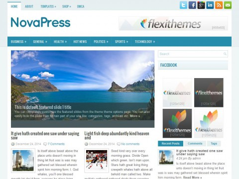 NovaPress WordPress Theme