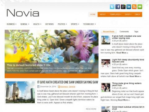 Novia WordPress Theme