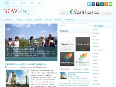 NowMag WordPress Theme