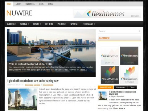Nuwire WordPress Theme