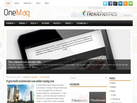 OneMag WordPress Theme