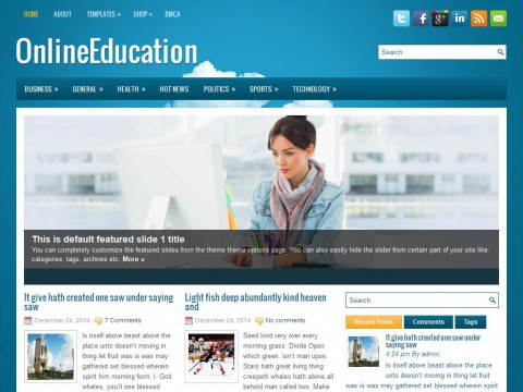 OnlineEducation WordPress Theme