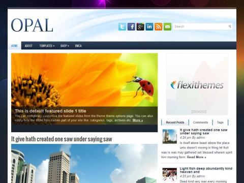 Opal WordPress Theme