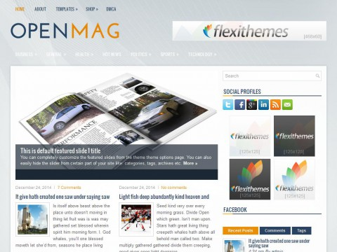 OpenMag WordPress Theme