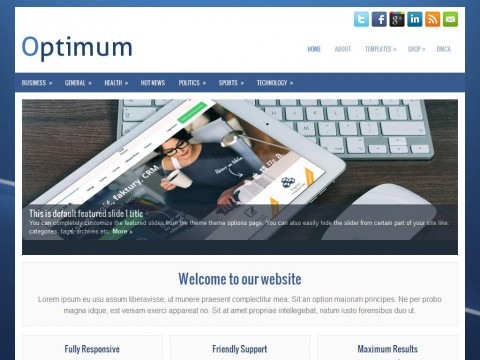 Optimum WordPress Theme