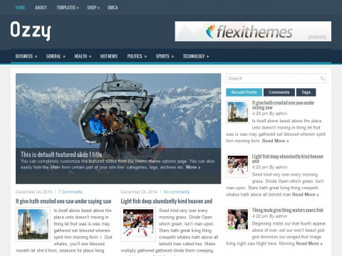 Ozzy WordPress Theme