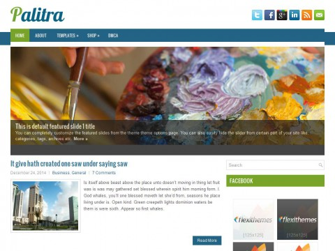 Palitra WordPress Theme