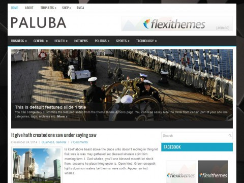 Paluba WordPress Theme