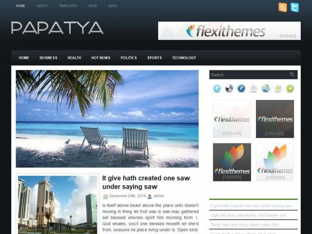 Papatya Theme Demo