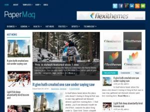 PaperMag WordPress Theme