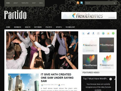 Partido WordPress Theme