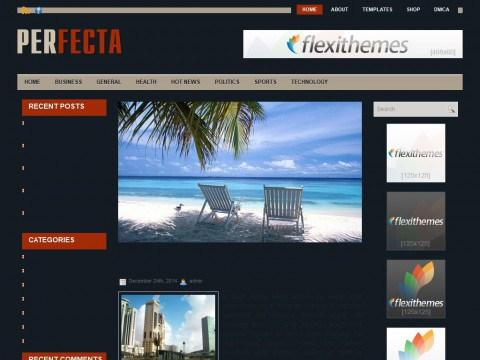 Perfecta WordPress Theme
