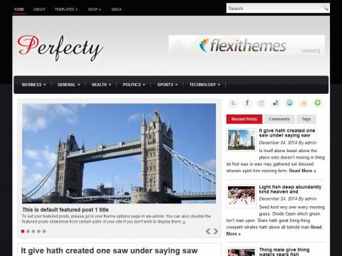 Perfecty WordPress Theme