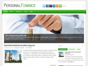 PersonalFinance WordPress Theme