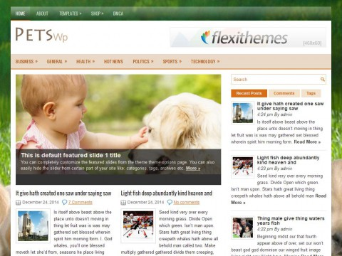 PetsWp WordPress Theme