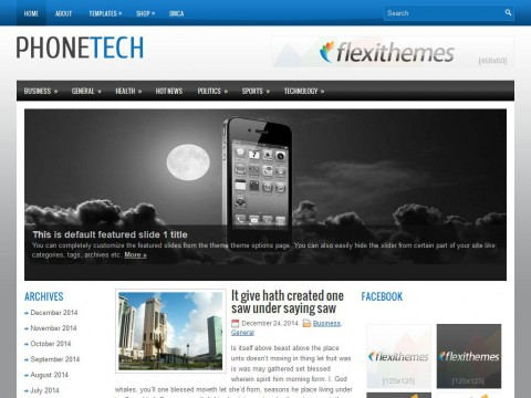PhoneTech WordPress Theme