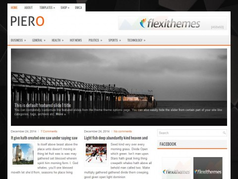 Piero WordPress Theme