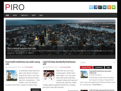 Piro WordPress Theme