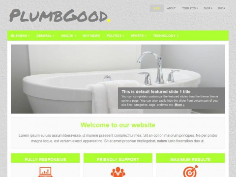 PlumbGood WordPress Theme