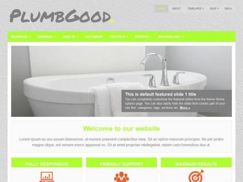 PlumbGood WordPress Theme
