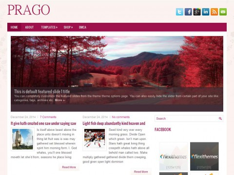 Prago WordPress Theme