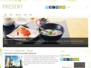 Present WordPress Theme