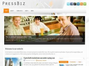 PressBiz WordPress Theme