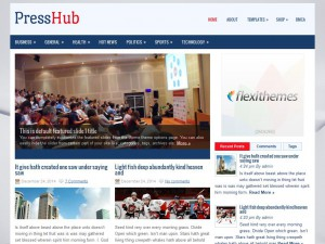 PressHub WordPress Theme