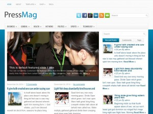 PressMag WordPress Theme