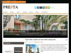 Presta WordPress Theme