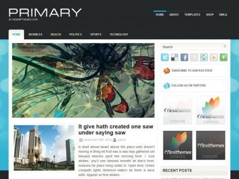 Primary WordPress Theme