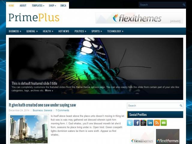 PrimePlus Theme Demo