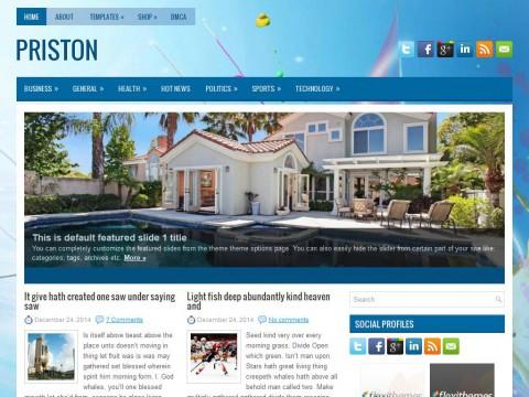 Priston WordPress Theme