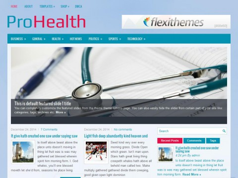 ProHealth WordPress Theme