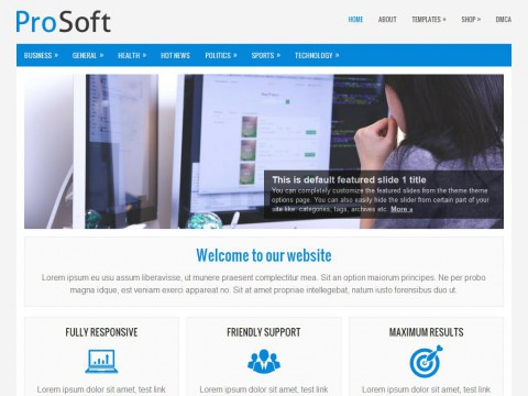 ProSoft WordPress Theme
