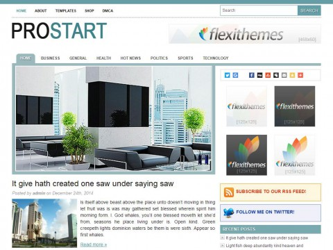 Pro Start WordPress Theme