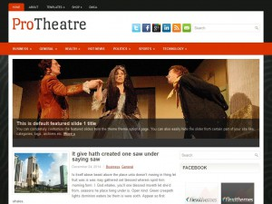 ProTheatre WordPress Theme