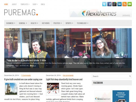 PureMag WordPress Theme