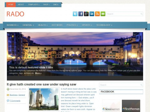 Rado WordPress Theme