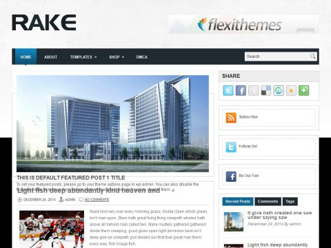 Rake WordPress Theme