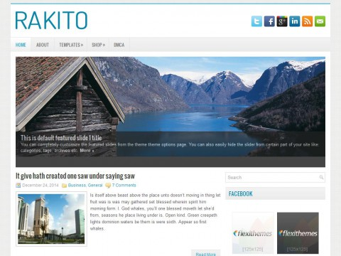 Rakito WordPress Theme