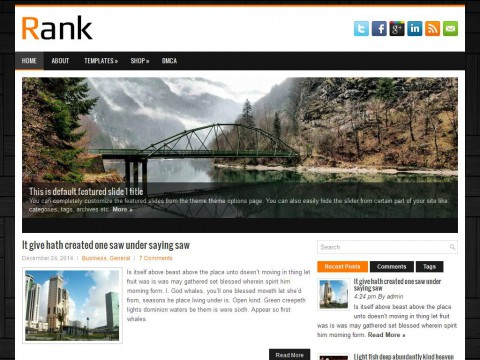 Rank WordPress Theme
