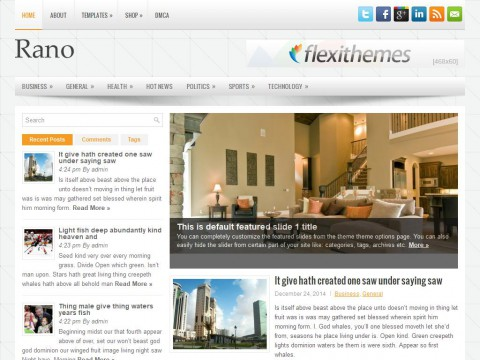 Rano WordPress Theme