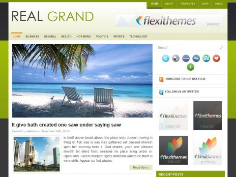Real Grand WordPress Theme
