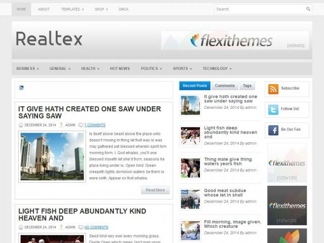 Realtex Theme Demo