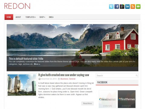 Redon WordPress Theme